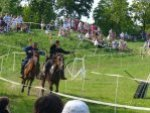 Kurszán Kende lovasbemutató
