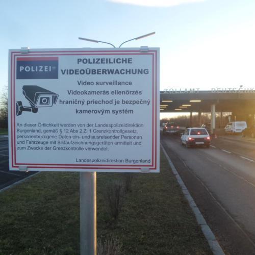 Hosszútvára rendezkednek be az osztrák határrendészek, bekamerázták a határátkelőket!
