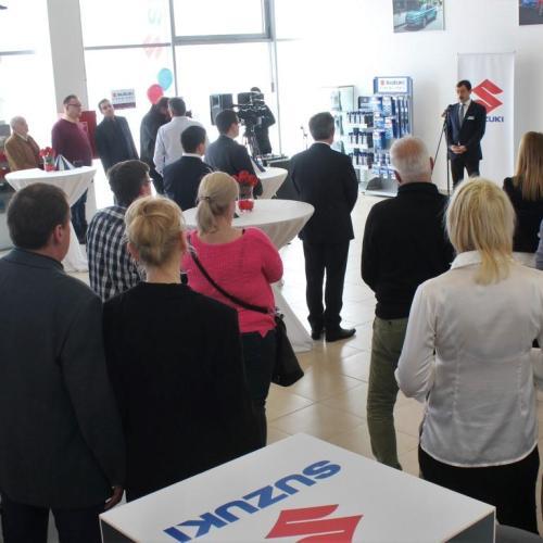 A soproni Iniciál Autóház Kft-vel nyílt meg a legújabb Suzuki márkakereskedés