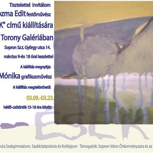 Új kiállítás nyílik a Torony Galériában