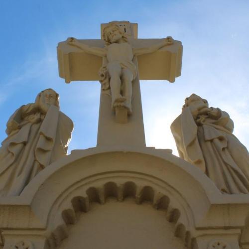 Húsvét – Nagypénteken Jézus kereszthalálára emlékeznek a keresztények
