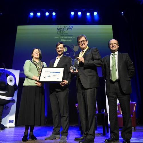 Bécs nyerte az Európai Mobilitási Hét díját