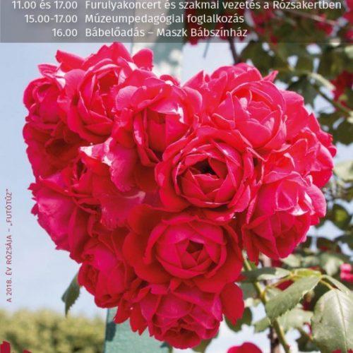 Rózsaünnepet tartanak Eszterházán