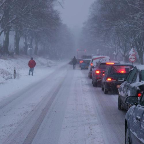 Ellehetetlenül a közlekedés Sopron és a 84-es utat környező falvak között