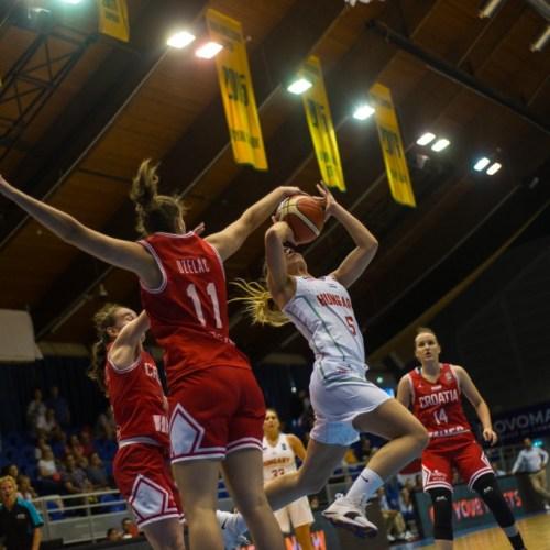 U20 EB: Magabiztos győzelemmel indultak a magyar lányok