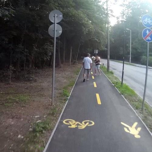 Biciklivel néztük meg mit tud az új lővereki kerékpárút – videó