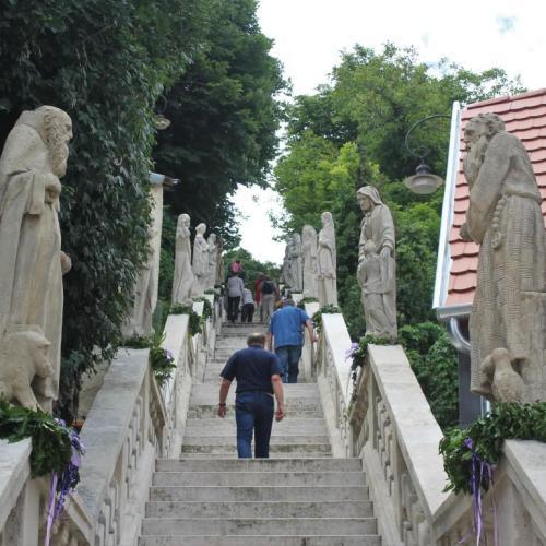 300 éves a Sopronbánfalvi Szentek Lépcsője! ( sok fotó )