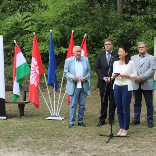 A vasfüggöny hivatalos átvágására emlékeztek Sopronban (képek)