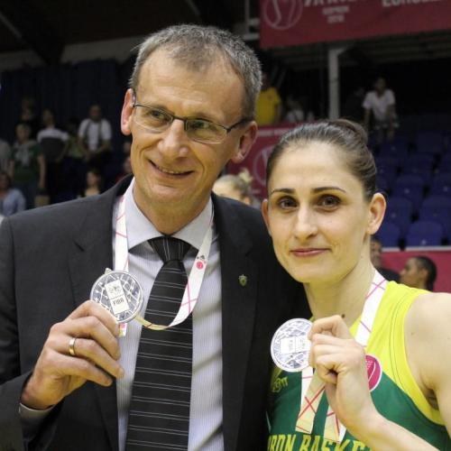 Fegyverneky Zsófialett az év hazai kosárlabdázónője!