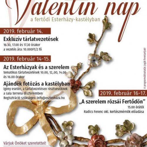 Valentin nap – programsorozat Eszterházán