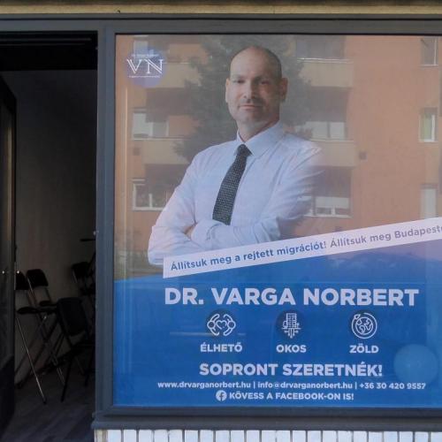 Bemutatkozott Dr. Varga Norbert, független polgármesterjelölt