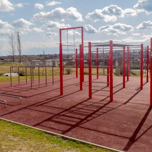 Szabadtéri sportparkot létesítettek az Aranyhegyen