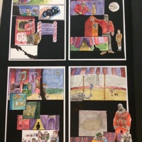 Képzőművészet: Öt első helyezést hoztak el a megyei versenyről a licisták