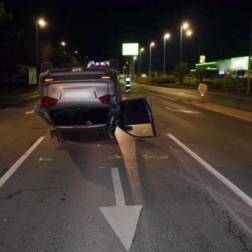 Rosszul megválasztott sebesség és manőver Sopronban