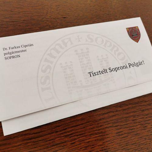 Koronavírus: Polgármesteri levelet kap minden soproni!