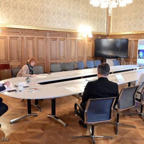 Virtuálisan találkozott először Bécs és Budapest polgármestere