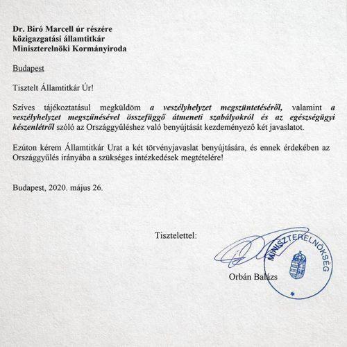 Bemutatjuk a levelet, amit az ellenzék szerint sosem adott volna be a kormány