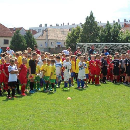 Soproni sikerek a helyi utánpótlás labdarúgótornán