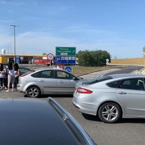 Kudarcba fulladt a gigantikusra tervezett országos autós útzár demonstráció!