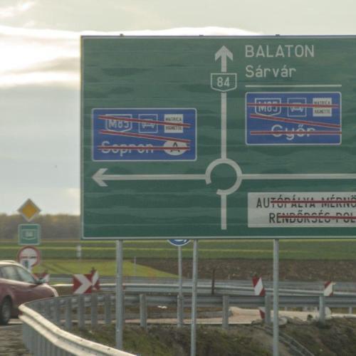 Már szerda délelőtt átadják az M85 gyorsforgalmi új szakaszát