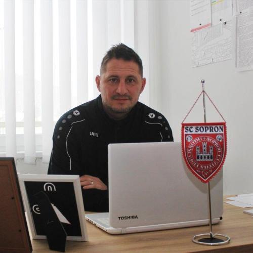 Csiszár Ákossal beszélgettünk a soproni fociról, fejlesztésekről és tervekről