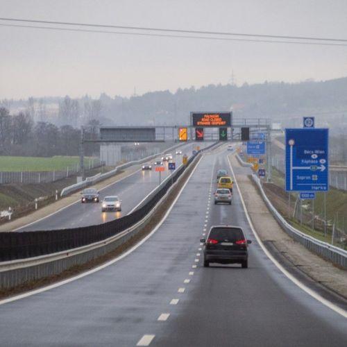 Június elején adhatják át a forgalomnak a Sopron-kelet és Balf csomópont közötti M85 szakaszt