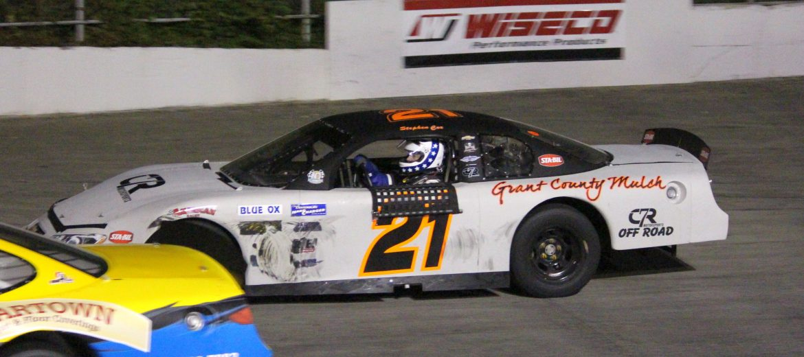 Stephen Cox Wins Hard Charger, Places 2nd at Kingsport