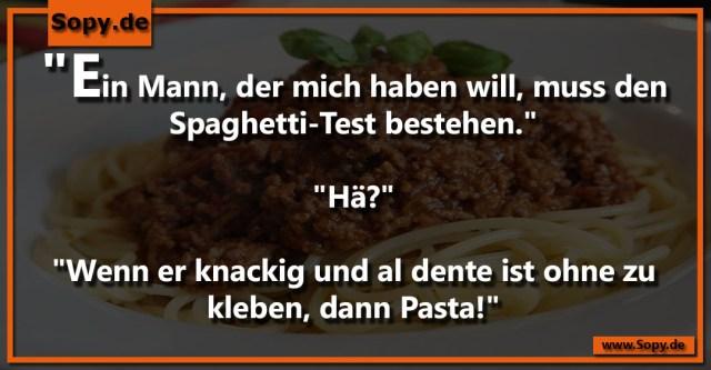 Spaghetti-Test
