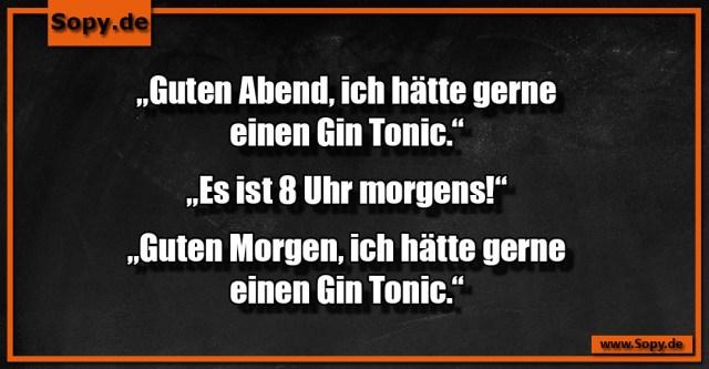 Guten Morgen Gin Tonic