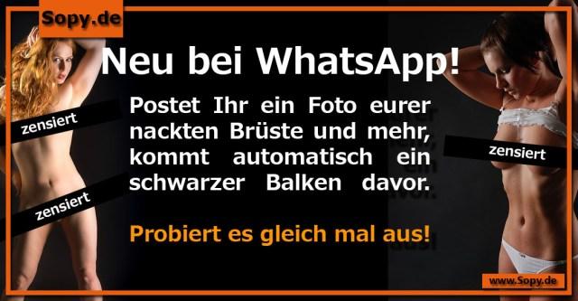 Neu bei WhatsApp