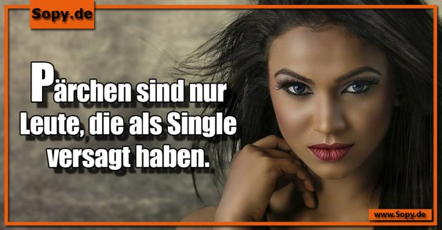 als Single versagt