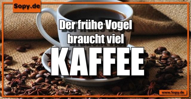 viel Kaffee