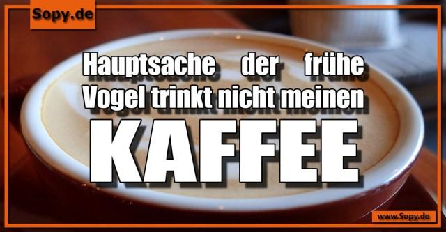 meinen Kaffee