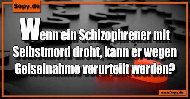 Schizophrener