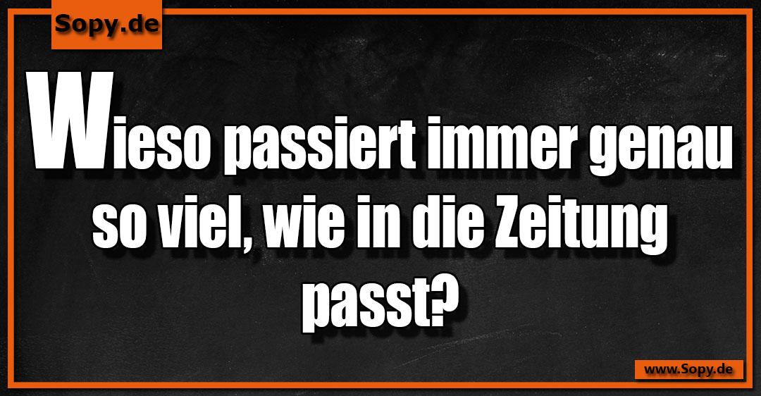 Sopy Lustige Zeitung Spruche Spruchbilder Zitate