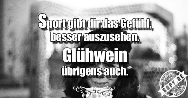 Glühwein und Sport