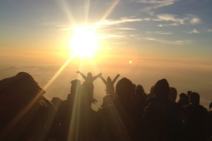 The time required of Mt.Fuji climbing for beginners?
