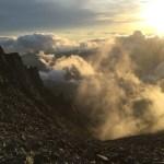 2016年7月上旬 涸沢から上高地登山 ストームクルーザー上下セットPRBL(メンズ)・)GORE-TEX タイオガブーツ Men's KH 他3点 ご利用レポート