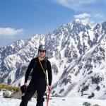 2016年2月中旬 毛無山登山 冬季アルパイン用ハードシェル上下セット(レディース)SURD 他5点