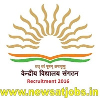 Kendriya Vidyalaya Sangathan Recruitment 2016,Apply Online