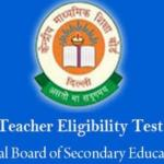 CTET Notification apply online
