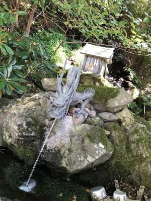 英彦山神宮天之水分神 龍神の写真