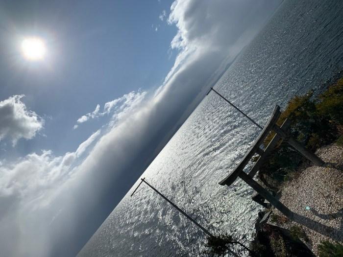 竹生島から龍神05