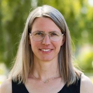 Porträttbild på Johanna Damberg