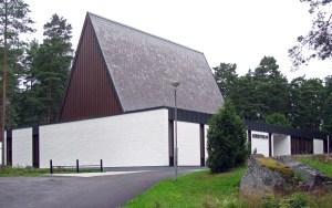Exteriörbild av Korskyrkan Örebro