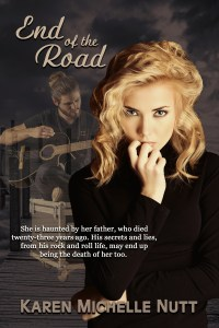 Paranormal Mystery End of the Road book cover