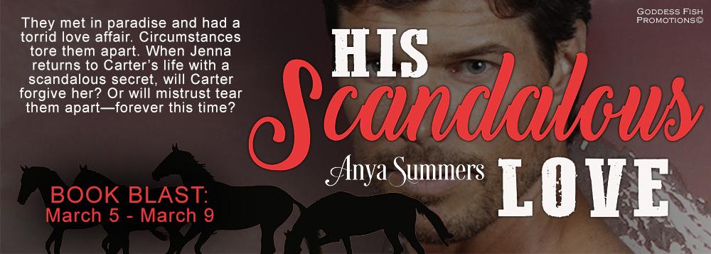 Tour banner for Erotic novel-His Scandalous Love