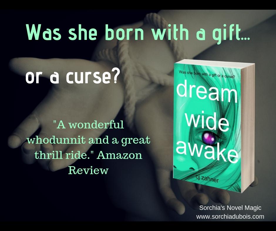 Novel Magic: Paranormal Thriller DREAM WIDE AWAKE by CJ Zahner