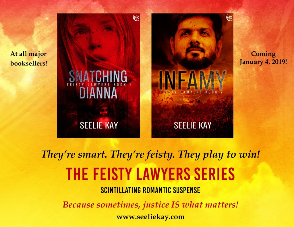 Feisty Lawyers series by Seelie Kay