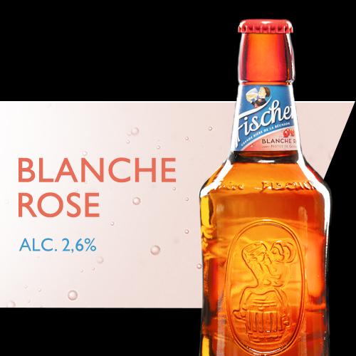 Fischer blanche rosée